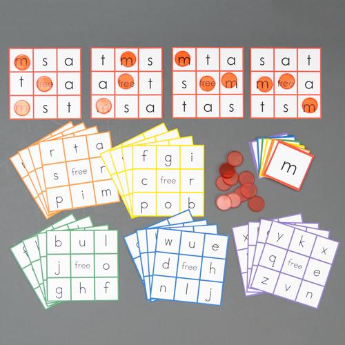 Color Coded Sound Games - BINGO