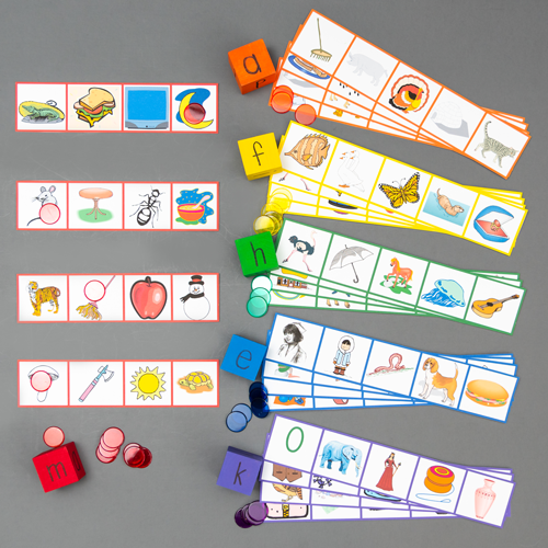 Color Coded Sound Games - Dice Game