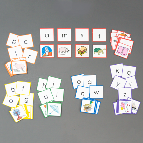 Color Coded Sound Games - Sorting Pictures