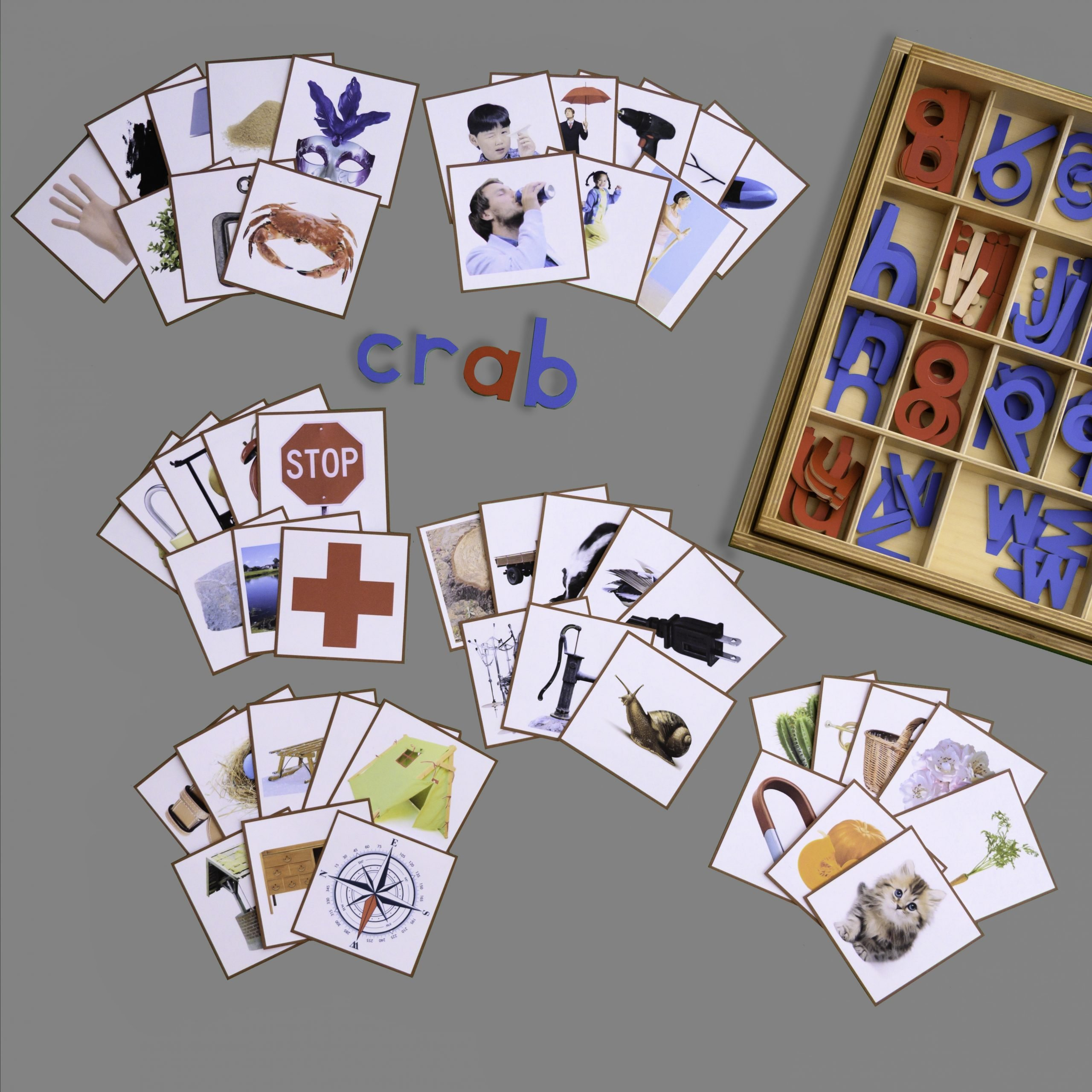 Blends- Pictures for Building Words With Movable Alphabet