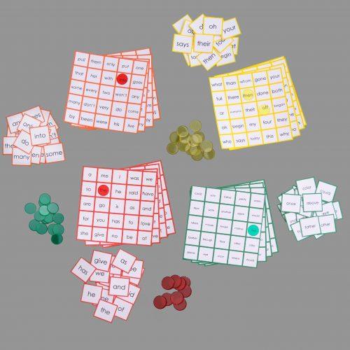 Puzzle Words - Bingo