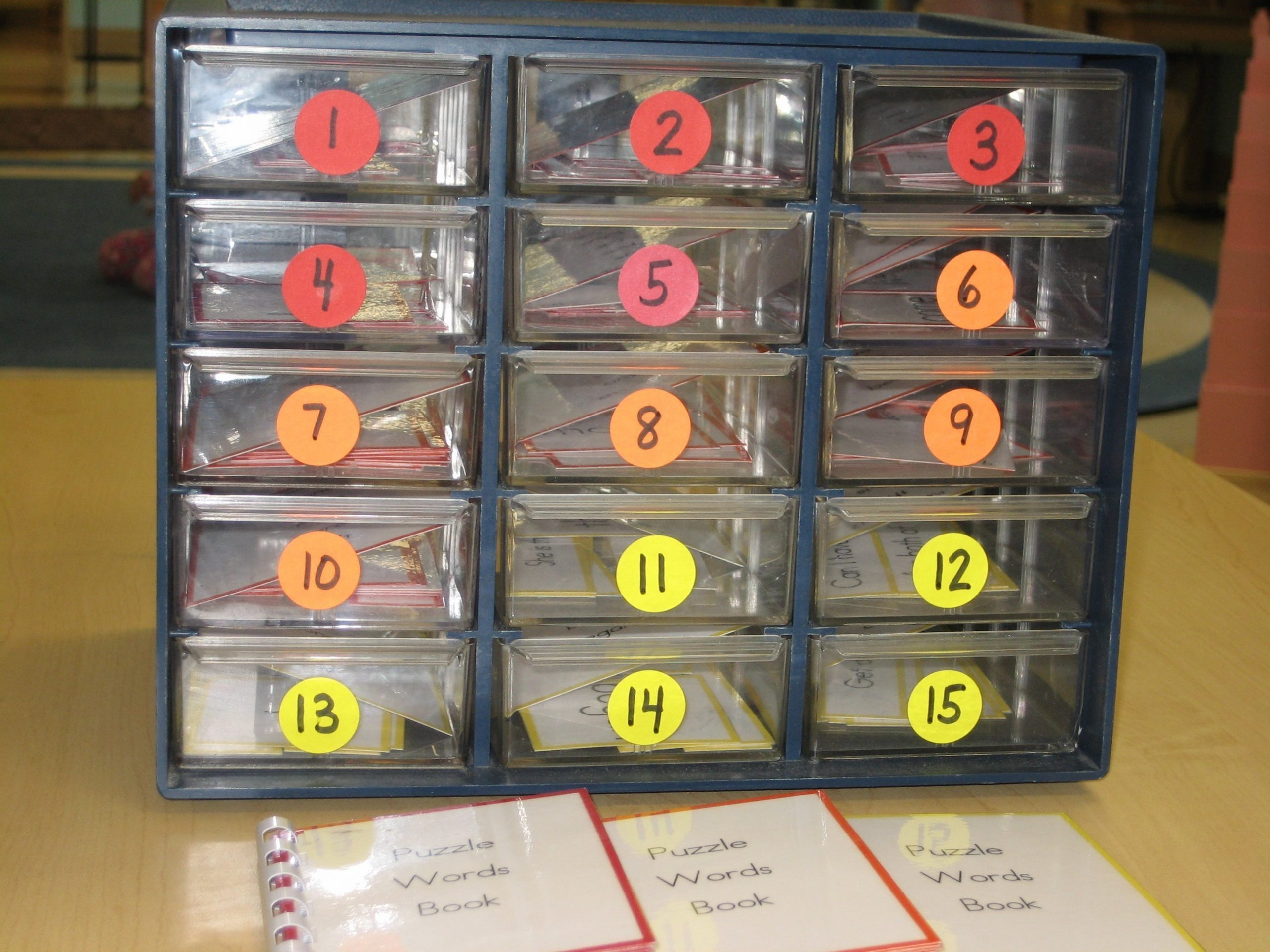 Puzzle Words - Drawers