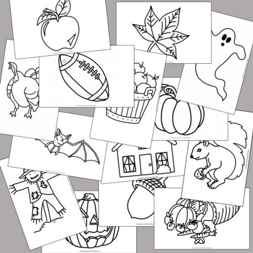 Fall Tracing Pictures