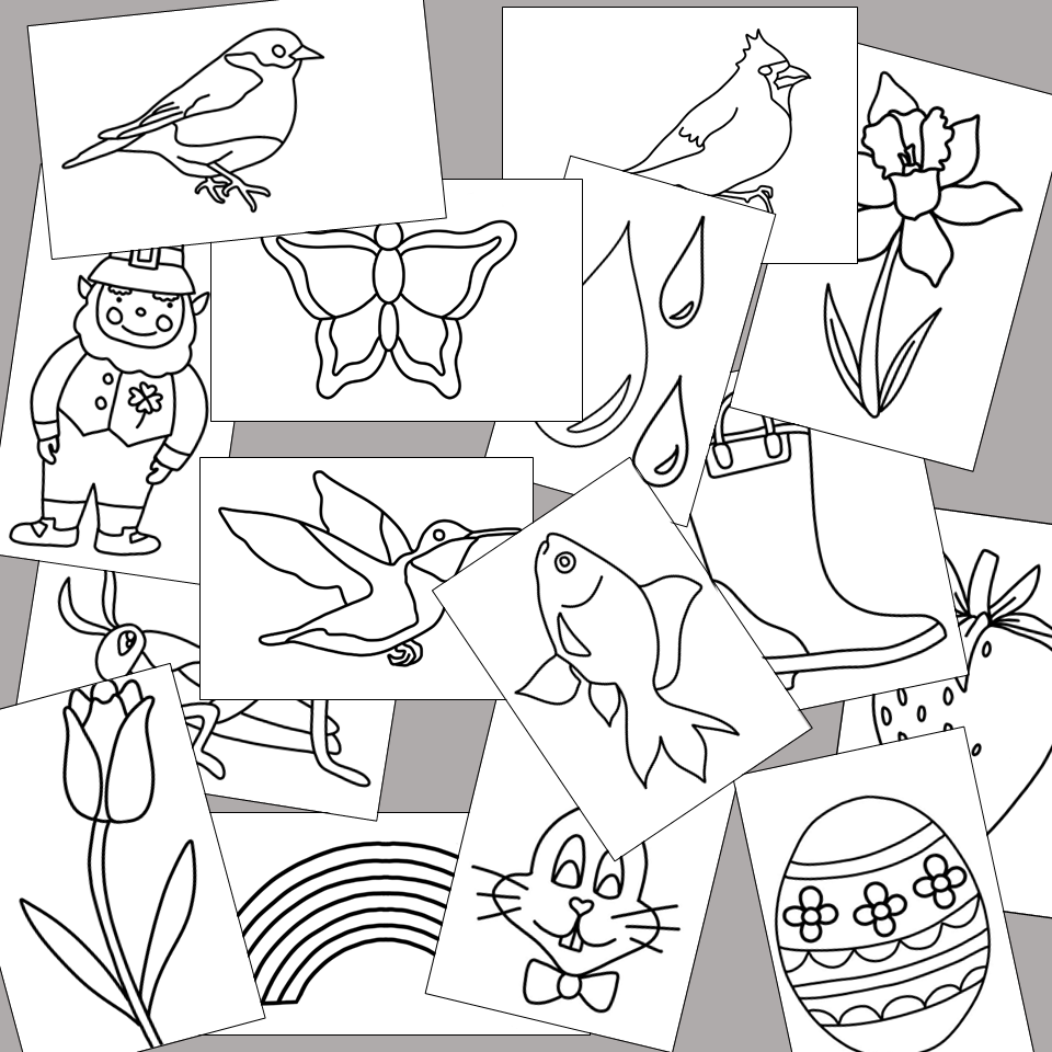 Spring Tracing Pictures